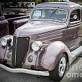 1936 Ford Roadster Classic Car Or Automobile In Color  3115.02 by M K Miller