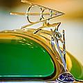 1936 Ford Deluxe Roadster Hood Ornament by Jill Reger