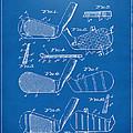 1936 Golf Club Patent Blueprint by Nikki Marie Smith