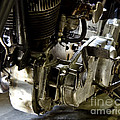 1936 Indian Flat Tracker Motorcycle by Wilma  Birdwell