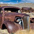 1937 Chevrolet Coupe At Bodie by Kathleen Bishop