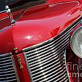 1937 Desoto Front Grill And Head Light 7285 by Gary Gingrich Galleries