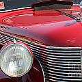 1937 Desoto Front Grill And Head Light-7289 by Gary Gingrich Galleries