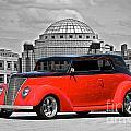 1937 Ford Convertible Sedan by Dave Koontz