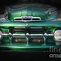 1937 Ford Pick Up Truck Front End by Susan  Lipschutz