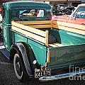 1937 Ford Pickup Truck Bed Classic Car  Photograph In Color 3312 by M K Miller