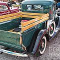 1937 Ford Pickup Truck Spare Tire Classic Car Photograph In Colo by M K Miller
