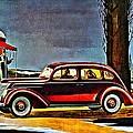 1937 Ford V-8 Sedan by Florian Rodarte