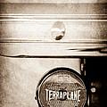 1937 Hudson Terraplane Pickup Truck Taillight Emblem by Jill Reger