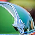 1937 International D-2 Station Wagon Hood Emblem -2652c by Jill Reger