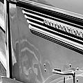 1937 International D-2 Station Wagon Side Emblem by Jill Reger