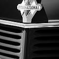 1937 International D2 Pickup Truck Grille Emblem by Jill Reger