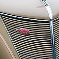 1937 Lincoln-zephyr Coupe Sedan Grille Emblem - Hood Ornament by Jill Reger