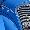 1937 Peugeot 402 Darl'mat Legere Special Sport Roadster Recreation Grille Emblem by Jill Reger
