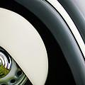 1938 Bmw 327 - 8 Cabriolet Rear Wheel Emblem -2668c by Jill Reger