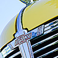 1938 Chevrolet Coupe Hood Ornament -0216c by Jill Reger