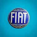 1938 Fiat 508c Berlinetta Speciale Emblem by Jill Reger