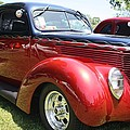 1938 Ford Two Door Sedan by John Telfer