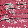 1938 John Adams Stamp by Bill Owen