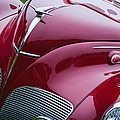 1938 Lincoln-zephyr Convertible Coupe Grille - Hood Ornament - Emblem by Jill Reger