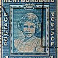 1938 Queen Elizabeth II Newfoundland Stamp by Bill Owen