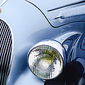 1938 Talbot-lago 150c Ss Figoni And Falaschi Cabriolet Headlight - Emblem by Jill Reger