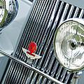 1939 Aston Martin 15-98 Abbey Coachworks Swb Sports Grille Emblems by Jill Reger