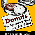 1940 Donut Poster by Historic Image