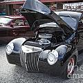 1939 Ford Sedan Antique Classic Car In Color 3412.02 by M K Miller