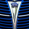 1939 Ford Woody Wagon Grille Emblem by Jill Reger