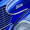 1939 Ford Woody Wagon Side Emblem by Jill Reger