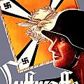 1939 German Luftwaffe Recruiting Poster - Color by John Madison