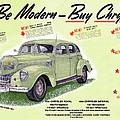 1939 Imperial Vintage Automobile Ad by Jack Pumphrey