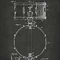 1939 Snare Drum Patent Gray by Nikki Marie Smith
