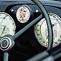 1940 Alfa Romeo 6c 2500 Ss Graber Cabriolet Steering Wheel - Guages by Jill Reger