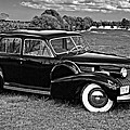 1940 Cadilac Bw by Steve Harrington