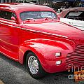 1940 Chevrolet Master Classic Car Side View Color  3112.02 by M K Miller