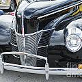 1940 Ford Classic Car Front Front End And Grill Photograph In Co by M K Miller