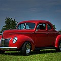1940 Ford Coupe by Sonja Dover
