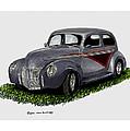 1940 Ford Custom Street Rod by Jack Pumphrey