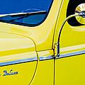 1940 Ford Deluxe Side Emblem by Jill Reger