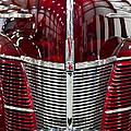 1940 Ford V8 Grill  by Eti Reid