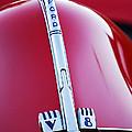 1940 Ford V8 Hood Ornament -323c by Jill Reger