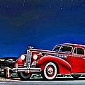 1940 Packard Super 8 One Sixty Touring Sedan Ad by Florian Rodarte