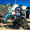 1940 Triumph And Supermarine Mk959 Spitfire  by Nick Zelinsky