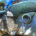 1940s Antique Chevrolet Hood View by Douglas Barnett