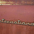 1940s Era International Harvester Truck Insignia by Daniel Hagerman