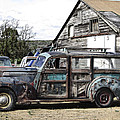1940s Era Packard Wood-panel Wagon by Daniel Hagerman