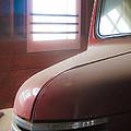 1940s Era Red Chevrolet Truck  by Jo Ann Tomaselli