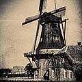 1940s German Windmill  by Gerlinde Keating - Galleria GK Keating Associates Inc